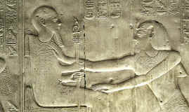 Touching the Heart of the God Ptah, Abydos