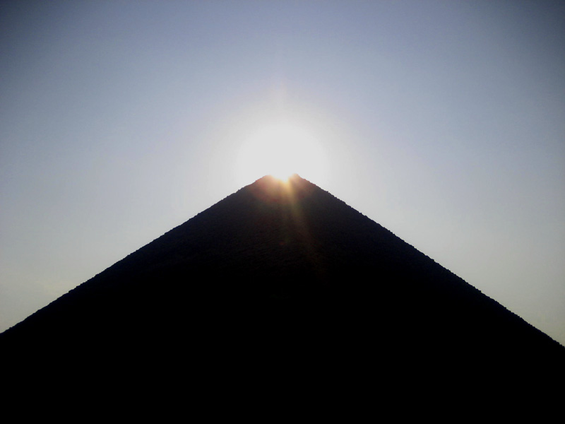 Photos - Dashur Pyramids - Red Pyramid, Bent Pyramid ...