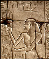 The Goddess Seshat at Karnak Temple