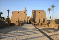 Early morning at Luxor Temple